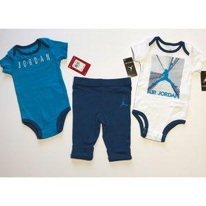 70dea4573b13 Jordan Matching Sets - FIRM Nike Air Jordan 3 Pc Set 2 Bodysuits & Pants